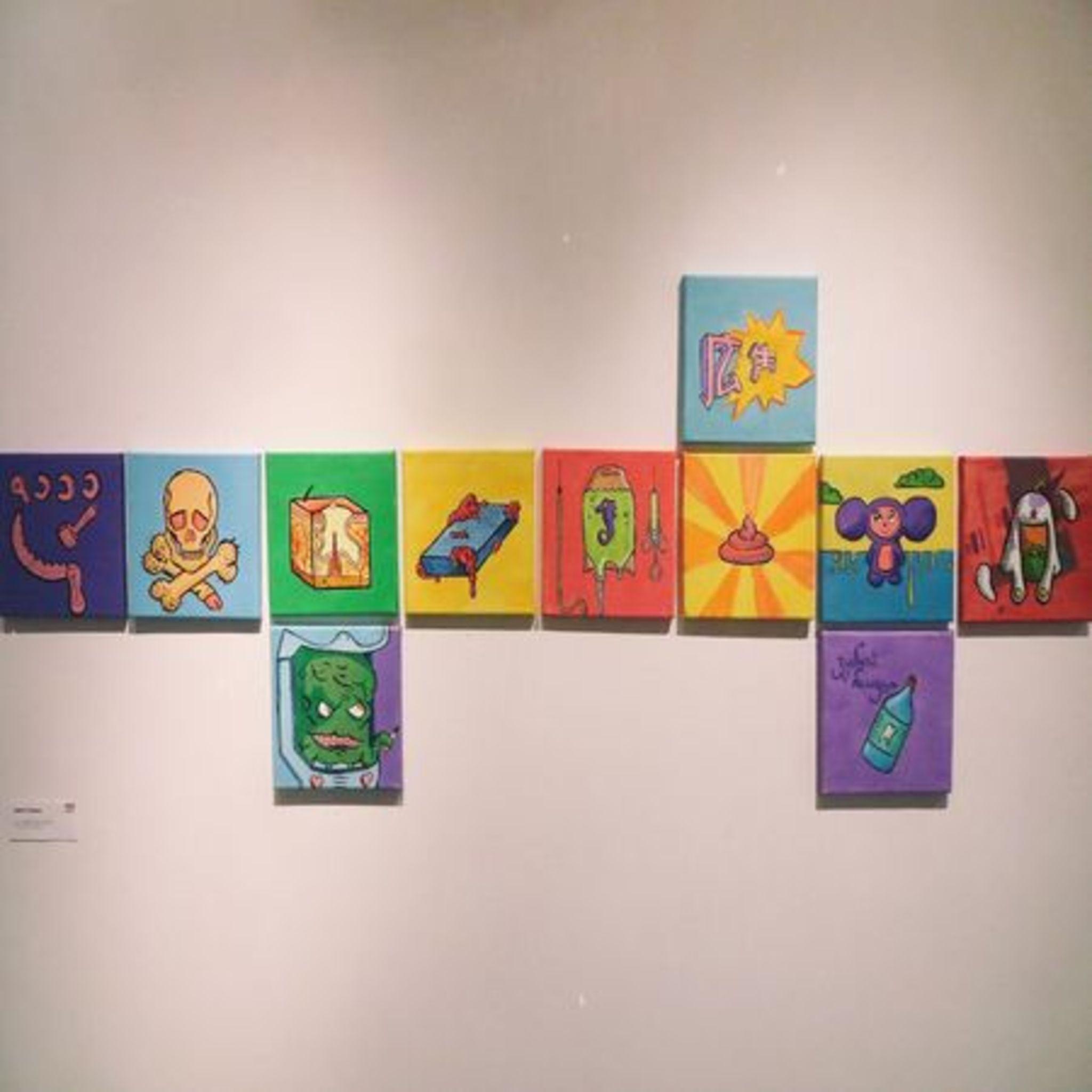Выставка Дениса Уранова «Softcore»