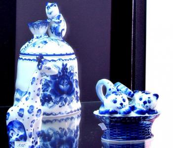 Выставка-ярмарка традиционных изделий русского искусства из фарфора «Гжель»