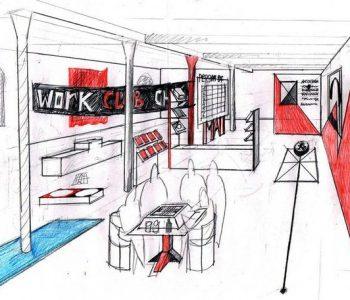 Первый проект в новой «Типографии»: группировка ЗИП и художник из Австрии Альберт Альгайер